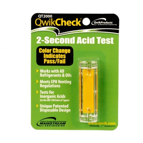Advanced Engineering QT2000 Quik Check 2 Second Acid Test Kit