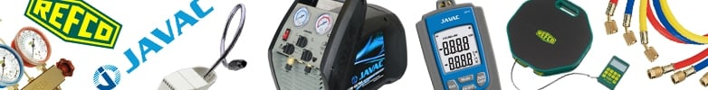 Javac Refrigerant Leak Detection