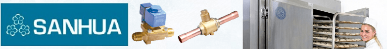 Sanhua Solenoid Valves and Coils