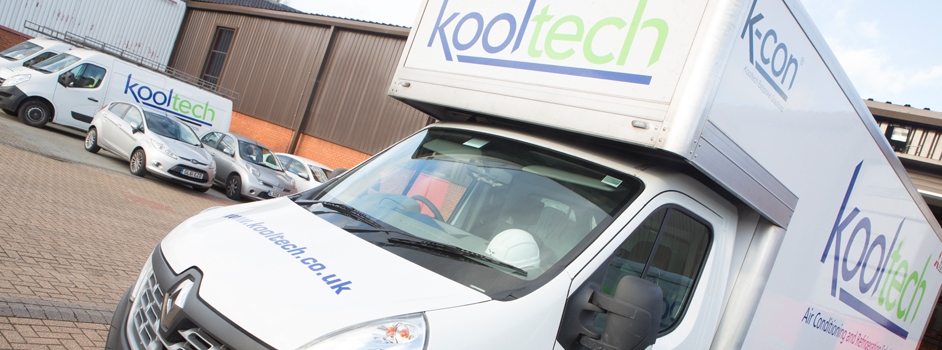 Kooltech branded vehicles