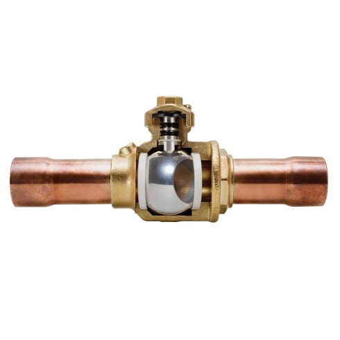 Henry Technologies Solder Connection Ball Valves