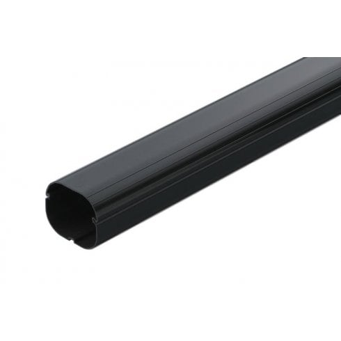 Inaba Denko SD-75-K 75mm Slimduct Trunking - 2m Black