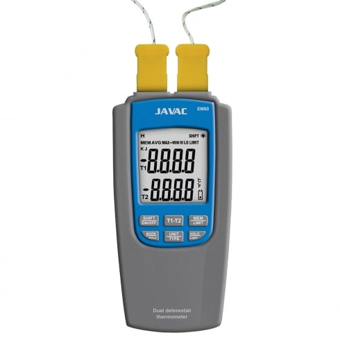 Javac EM60 Dual Differential Thermometer