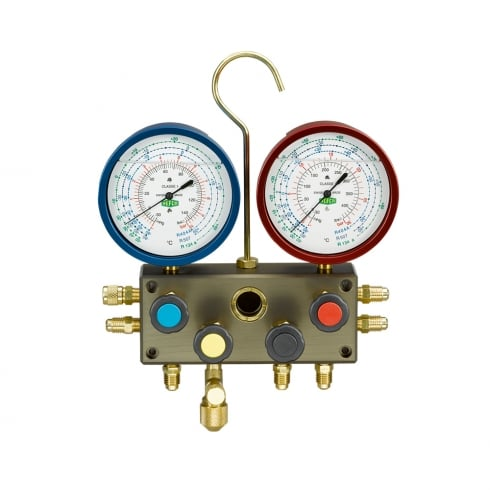 REFCO M4-3-Deluxe-DS-R22 Manifold