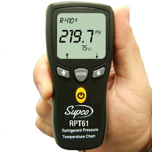 REFCO RPT61 Digital Ref Comparator Temp/Press