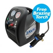 JAVAC XTR-PRO-Dual Voltage Recovery Unit  (FREE BRAZING TORCH)