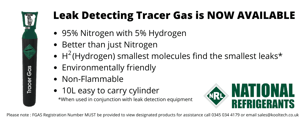 LEAK DETECTION TRACER GAS
