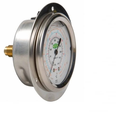 REFCO R32/R410 LP Front Mounted Gauge