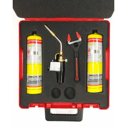Rothenberger SUPER FIRE 2 BRAZING KIT