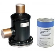 SANHUA HTG SERIES - FILTER DRIERS WITH REPLACEABLE CORE