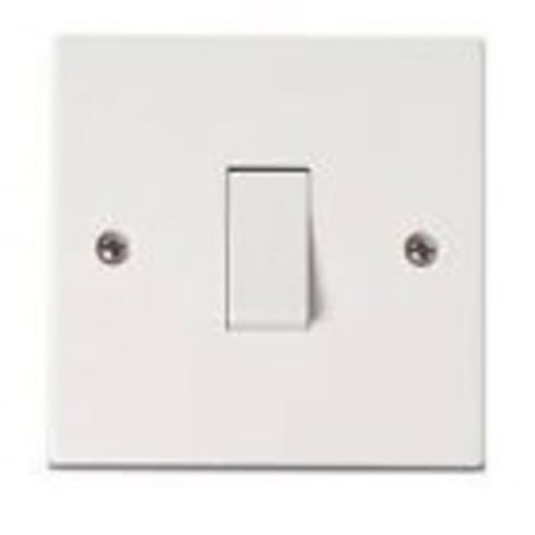 SCS Isolator White Plastic 6amp 3 Pole